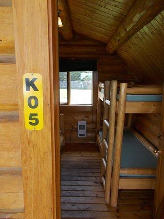 KOA Hinton/Jasper : Our KOA cabin. :)