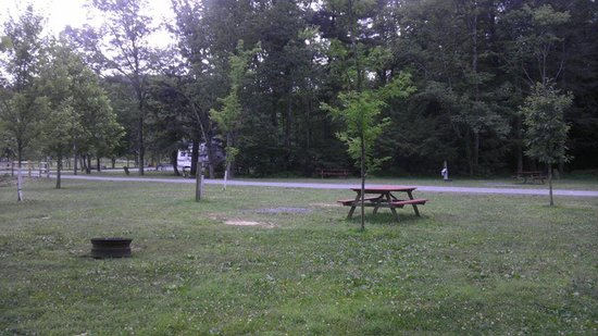 Lake Glory Campground: sites