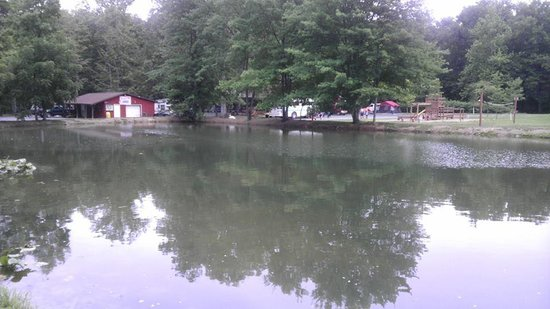 Lake Glory Campground: no-fishing pond