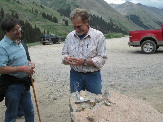 Switzerland of America Tours: checking the ore content