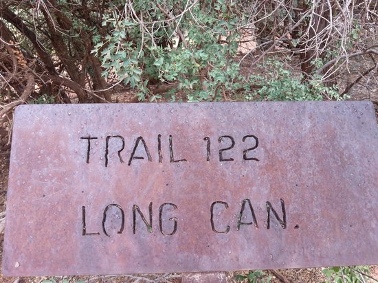 Lost Canyon Trail: Trail Head Sign