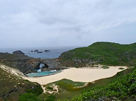 Mimamishima: ため池のようなところが扇池。大きな魚もたくさんいました。泳げばよかった。