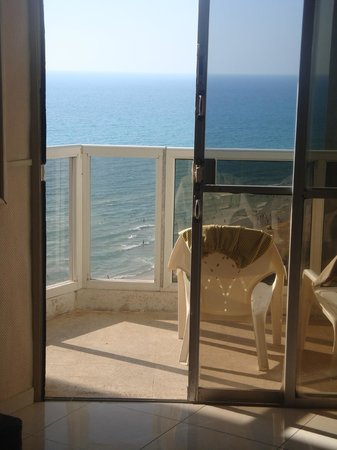Galil Hotel: Our Balcony - Room 610