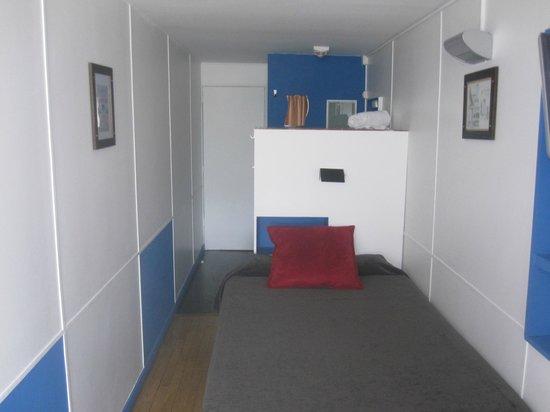 Hotel le Corbusier : Room cabine