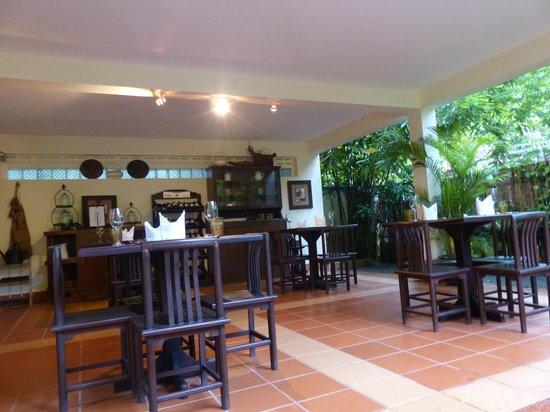 La Villa Coloniale: The restaurent