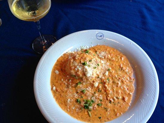 Moroldo's Fine Italian Restaurant: Spinach Ravioli