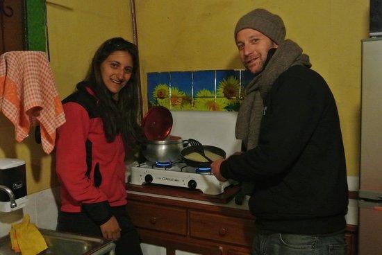 Dragonfly Hostels Cusco: Cours de cuisine avec le patron