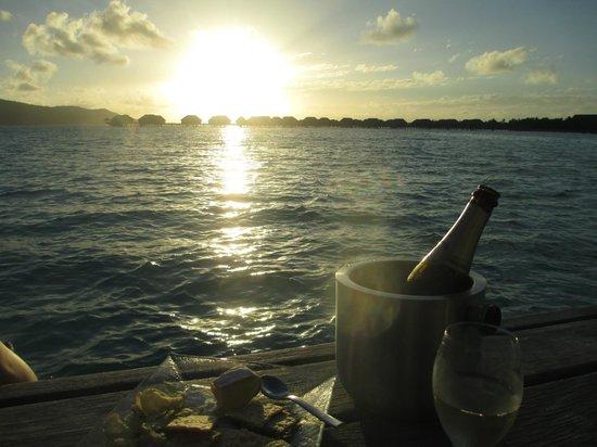 Four Seasons Resort Bora Bora: view from the room