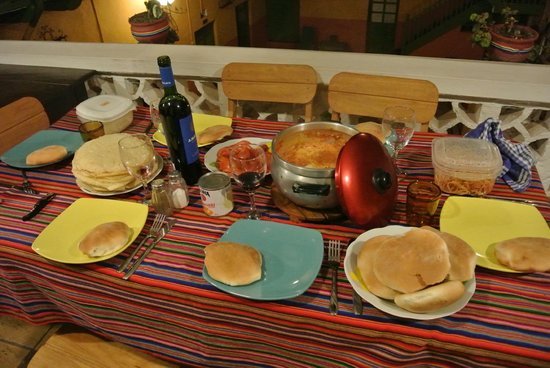 Dragonfly Hostels Cusco: Des repas mémorables