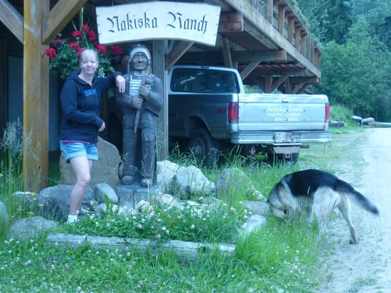 Nakiska Ranch and Lars dog