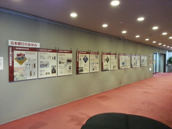 Bank of Japan Currency Museum: Hallway Leading to Exhibit Room