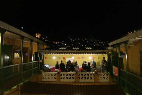 Dragonfly Hostels Cusco : une vue incroyable