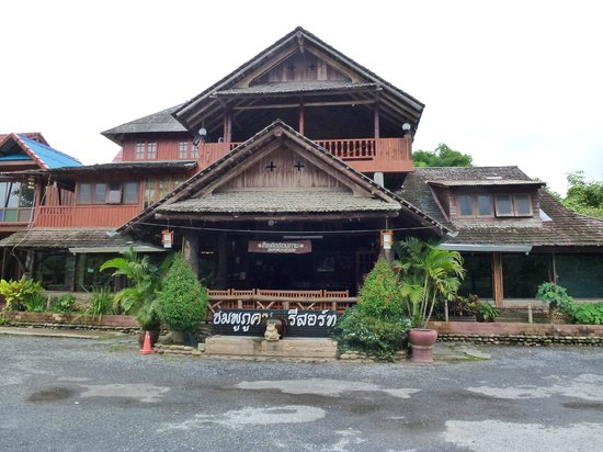 Chomphu Phukha Corner Resort : Main Entrance