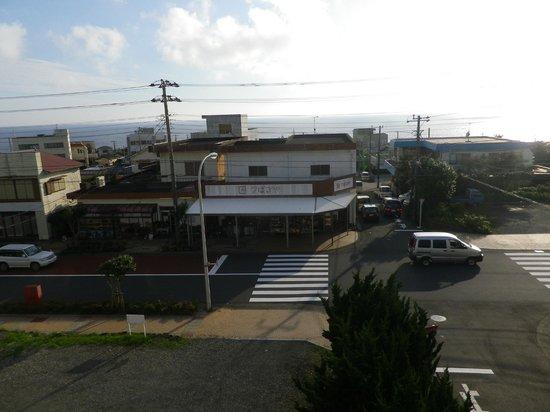 Ryokan Oshimakan: 部屋から見る街並み