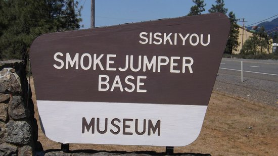 Cave Junction, OR: Sign located at the museum entrance.
