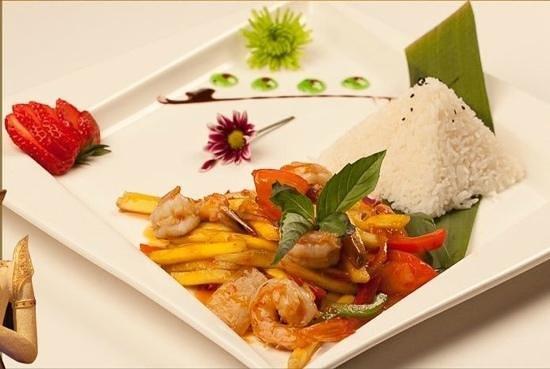 Bangkok Thai Cuisine: Mango Shrimp Yummy