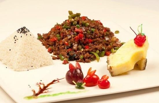 Bangkok Thai Cuisine: My flavor House stir fry Beef