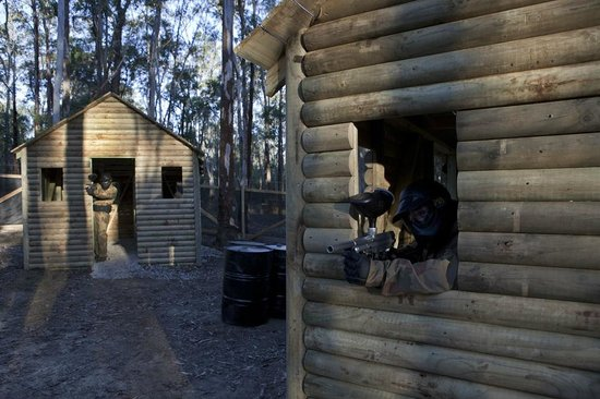 Delta Force Paintball, Sydney: POW Game Zone