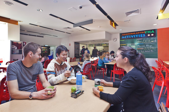 Melbourne Metro YHA Dining