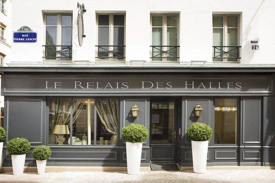 Le Relais des Halles: Facade Hotel Relais des Halles