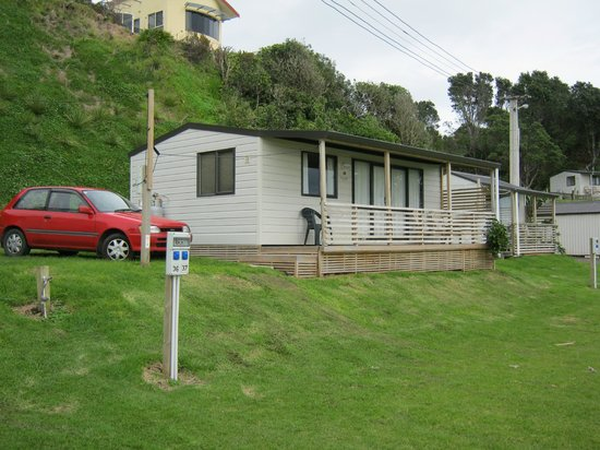 Oakura Beach Holiday Park: Our Unit