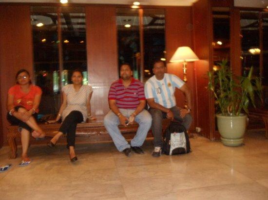 Bangkok Palace Hotel : lobby