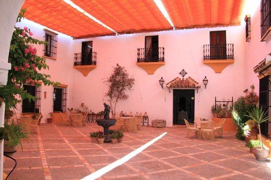 Hacienda El Santiscal: Patio interio