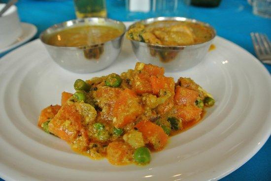 Taj Mahal Restaurant: India curry