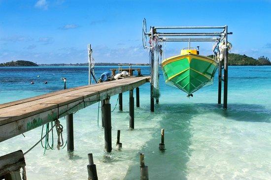 Maitai Polynesia Bora Bora: На берегу возле отеля