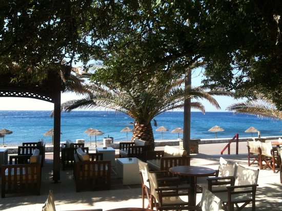 Korakas Beach: panorama dal bar
