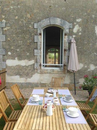 Domaine de Montgenoux: petit déjeuner