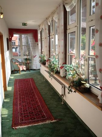 Hotel Am Josephsplatz : Pasillo a las habitaciones