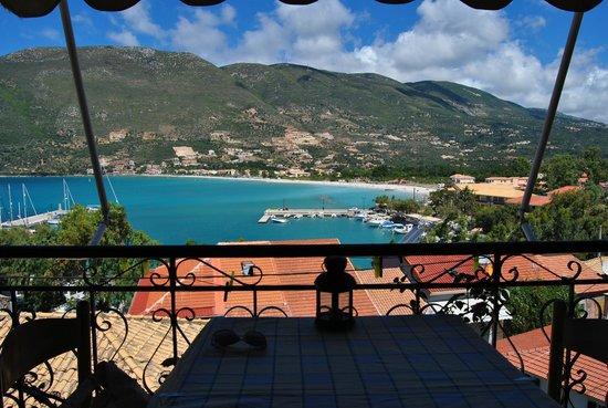 Vasiliki Blue : View from the balcony