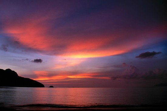 The Andaman, A Luxury Collection Resort: Sunset at The Andaman