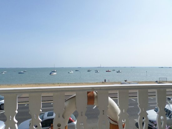 The Bay Guest House: our lovely view