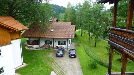 Hotel Wiedemann: dal balcone