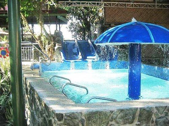 Poolside picture of kalipayan resort dasmarinas city - Beach with swimming pool in cavite ...