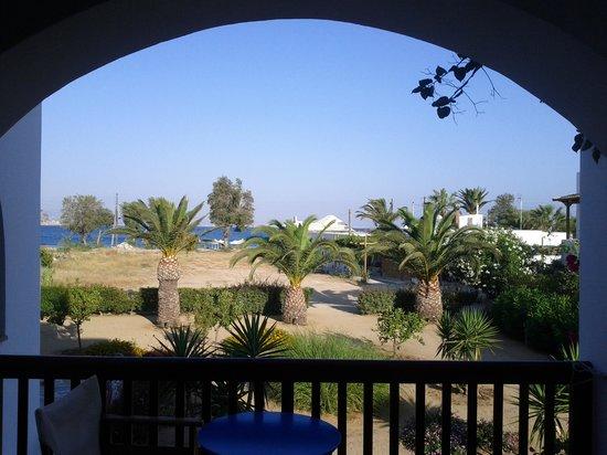 Villa Naxia Studios-Apartments: Blick vom Studio Poseidon