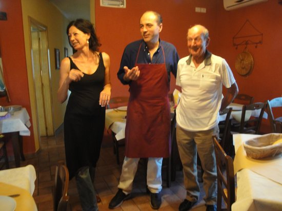 Montenero d'Orcia, Italia: Caterina, Adriano u. Roland