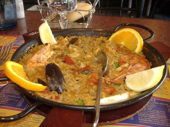 New Orleans Cafe : la favolosa paella ai frutti di mareee