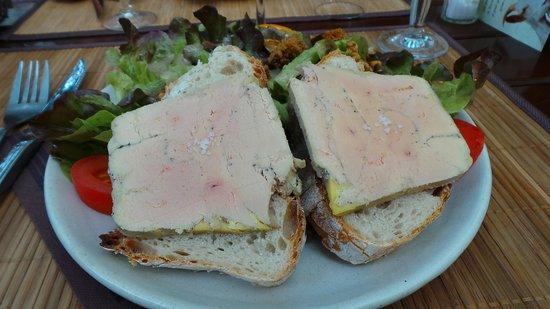 Le Roc du Berger : foie gras excellent