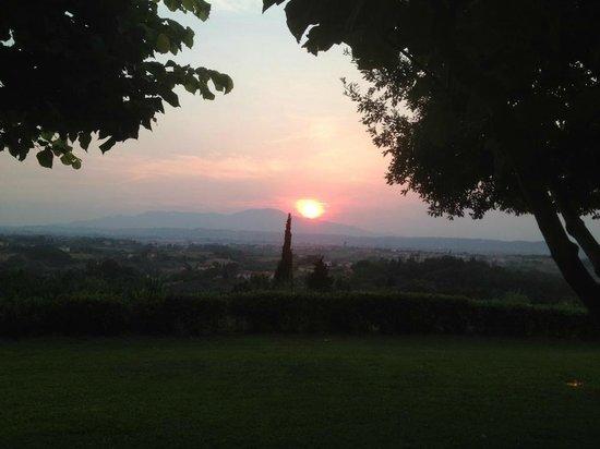 Agriturismo Montalto: Aussicht von der Terrasse <3