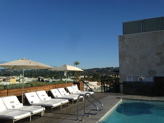SIXTY Beverly Hills: View from the pooldeck