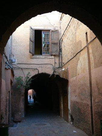Dar Marhaba: In the street