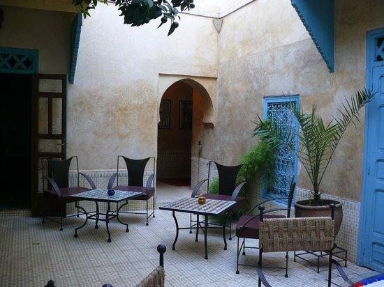 Dar Marhaba: Inside garden