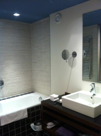 Hotel Les Pleiades: SDB chambre standard