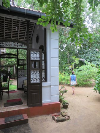 Home Stay Strand: Beautiful garden