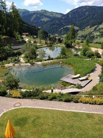 Übergossene Alm Resort : view down the valley