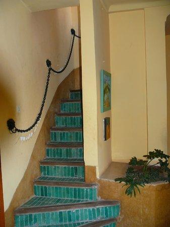 Dar Marhaba: Staircase
