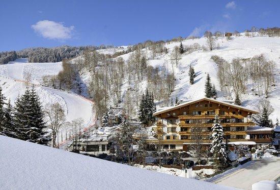 Theresia Gartenhotel: Skiabfahrt bis zum Hotel